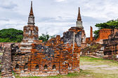 Historic architecture in Ayutthaya, Thailand — Stock Photo