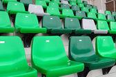 Audience seat in stadium — Stock Photo