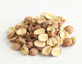 Fox nuts isolated on white — Stock Photo