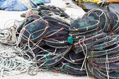 Empty seafood net traps — Stock Photo