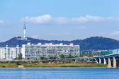 Seoul city in South of Korea — Stock Photo