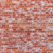 Brick wall in red color — Stock Photo
