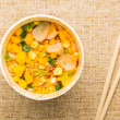 Instant noodles — Stock Photo