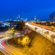 Seoul city skyline at night — Stock Photo #35798859
