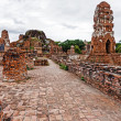 Historical architecture in Ayutthaya, Thailand — Stock Photo