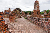 Historical architecture in Ayutthaya, Thailand — Stock Photo