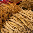Stock Photo: Fresh ginseng for sell
