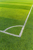 Football court — Stock Photo