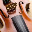 Stock Photo: Western musical instrument, violin