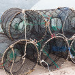 Traps for capture fisheries and seafood — Stock Photo #35852797