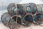 Traps for capture fisheries and seafood — Stock fotografie