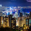 Hong Kong at night — Photo
