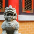 Chinese lion statue decoration — Stok fotoğraf
