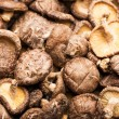 Stock Photo: Heap of dried mushrooms