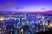 Hong Kong in sunrise — Stock Photo