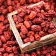 Dried red jujube — Stock Photo