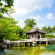Traditional pavilion in Chinese garden — Stock Photo