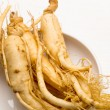 Stock Photo: Fresh Ginseng