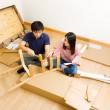 Stock Photo: Furniture assembling by asicouple