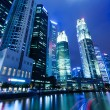Singapore night — Stock fotografie