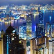 Hong Kong city by night — Stock Photo