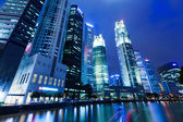 Singapore night — Foto Stock