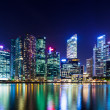 Singapore night — Stockfoto