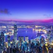 Stock Photo: Hong Kong morning