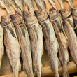 Stock Photo: Preserved salty fish