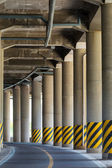 View under the viaduct — Stock Photo