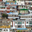 Stock Photo: Residential district in Seoul