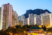 Kowloon residential building — Stock Photo