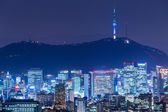 Seoul city — Stock Photo