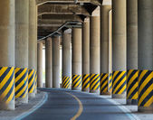 Under the viaduct — Stock Photo