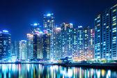 Busan city at night — Stock Photo