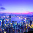 Hong Kong morning — Stockfoto