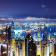 Stock Photo: Hong Kong late night