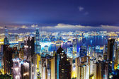 Hong Kong late night — Foto de Stock