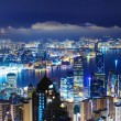 Hong Kong late night — Stock Photo