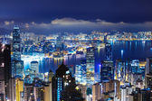 Hong Kong late night — Stock Photo