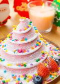 Christmas cake — 图库照片