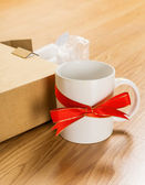 Worst gift, cup — Stock Photo
