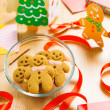 Stock Photo: Gingerbread for christmas