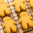 Homemade gingerbread cookies — Stock Photo