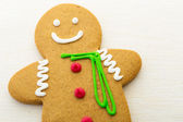 Gingerbread isolated on white — Stock Photo