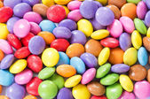 Colorful chocolate candy — Stock Photo
