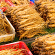 Stock Photo: Ginseng sticks