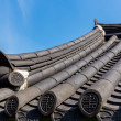 Roof eave of traditional architecture in Korea — Stock Photo #37414531