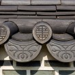 Roof eave of traditional building in Korea — Stock Photo #37414541