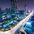 Stock Photo: Gangnam District at night
